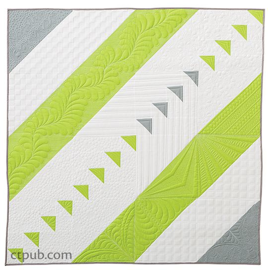 Quilting Patterns Using Walking Foot : Next Steps in Machine Quilting - Free-Motion & Walking-Foot Designs Beautiful, Quilt and Walking
