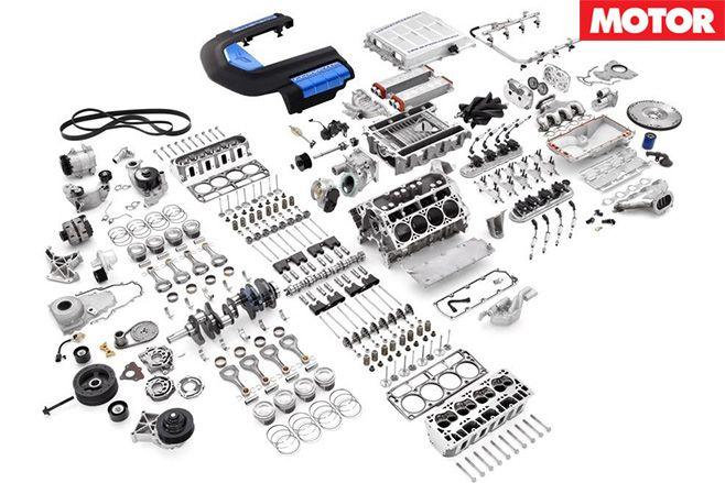 Corvetter zl1 parts
