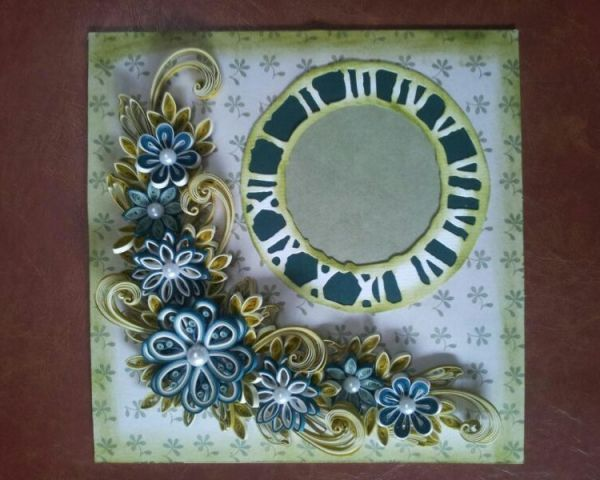 121 best images about Quilling Clocks on Pinterest