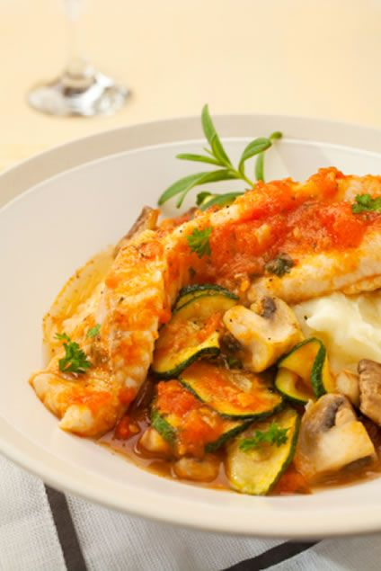 Fish Stew with Zucchini and Tomatoes | Recipe | Stew, Dads ...
