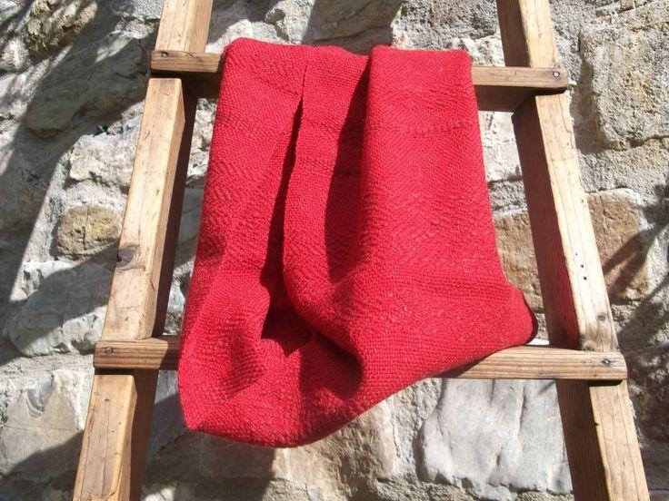 Weiteres - Handgewebter Loop aus 100% Wolle - ein Designerstück von…