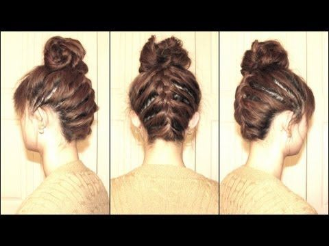 Masterclass: How to get the upside down braid bun you've all been drooling over