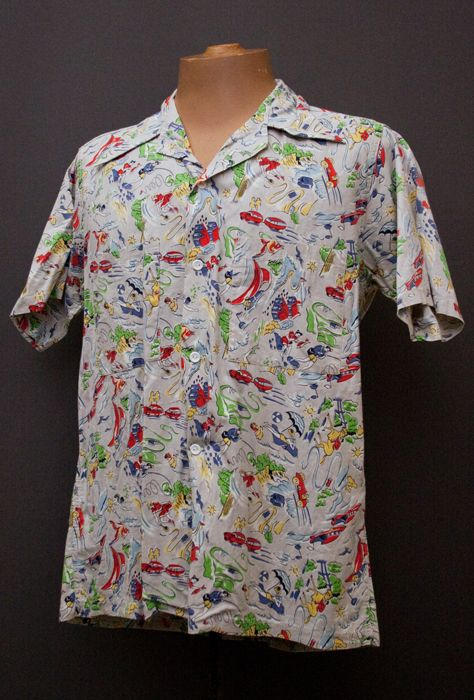 1950's shirt from The Mabs Collection