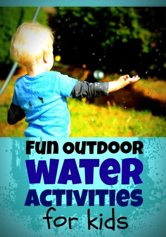 Fun Outdoor Water Activities for Kids -- These ideas were all huge hits with my kids!