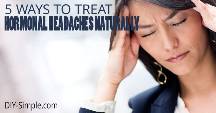 Stop dealing with those hormonal headaches and instead try out one of these 5 natural remedies!