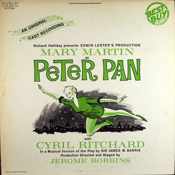 Mary Martin - Peter Pan (An Original Cast Recording): buy LP, RE at Discogs