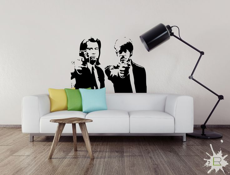 Naklejka Pulp Fiction
