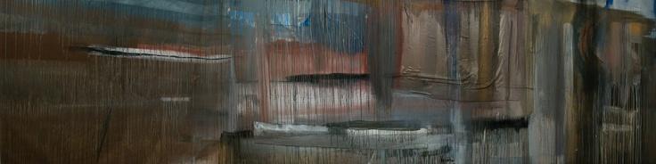 Hpeiros 700×200 cm, acrylics on canvas and fabric