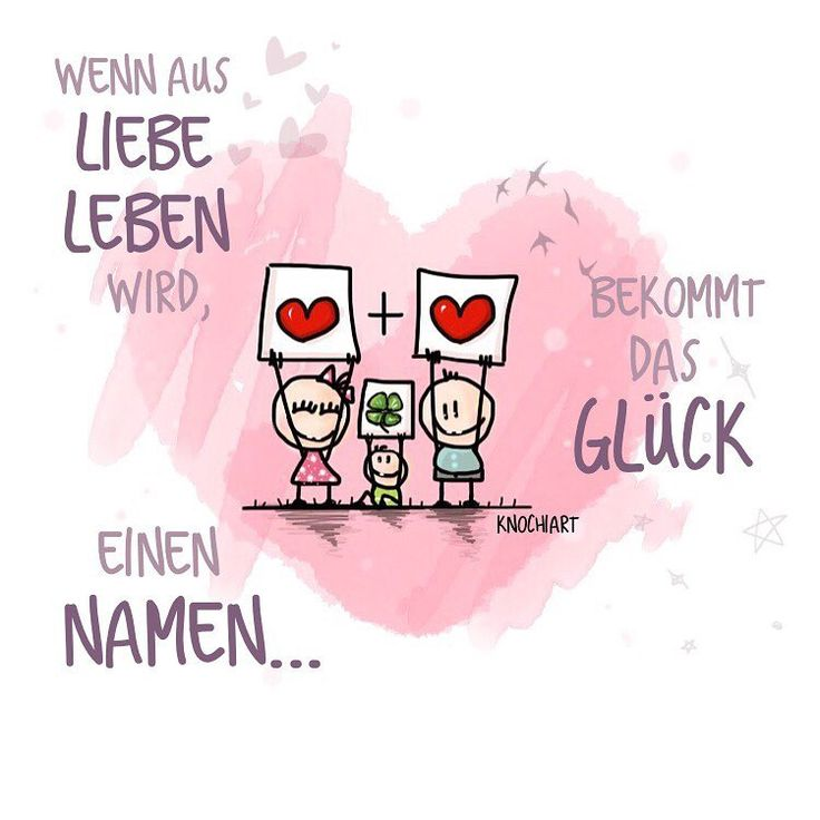 ❤️Wenn aus #Liebe #Leben wird,bekommt das #Glück 🍀 einen #Namen 👶🏼. 💟 #herzallerliebst #spruch #Sprüche #spruchdestages #motivation #thinkpositive ⚛ #themessageislove #pokamax #baby #nachwuchs Teilen und Erwähnen absolut erwünscht 👍 (hier:...