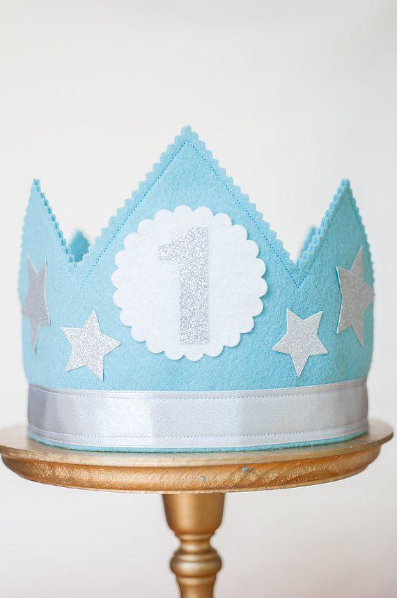 Hey, I found this really awesome Etsy listing at https://www.etsy.com/listing/235737585/boys-birthday-crown-felt-birthday-crown