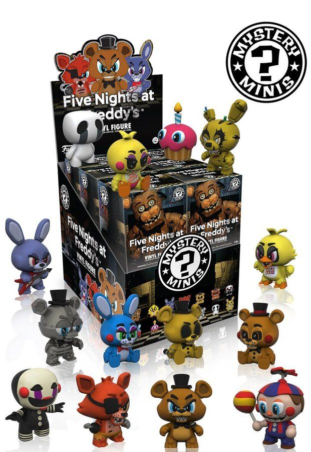 Funko Mystery Minis Blind Box Five Nights at Freddy's set of 12