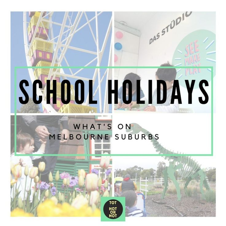 Spring School Holidays – Friday 16 September to Sunday 2 October - Melbourne suburbs http://tothotornot.com/2016/09/september-school-holidays-melbourne/