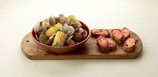 Steamed Corn With Clams And Bacon Recipe - NYT Cooking