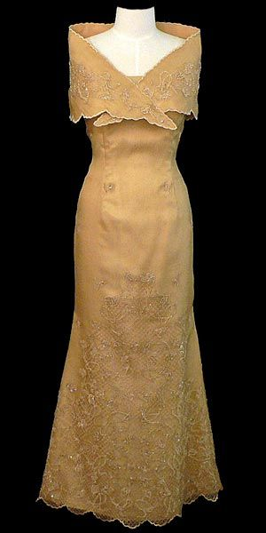 formal brown dress mother of the bride philippines