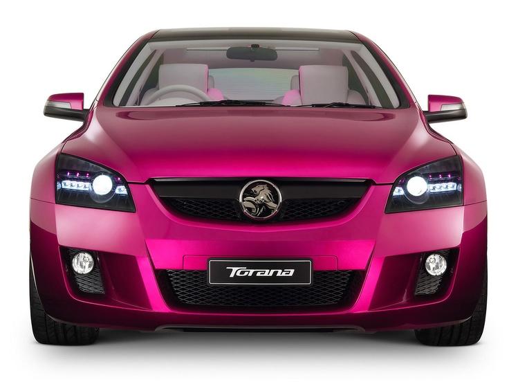 :) pink car