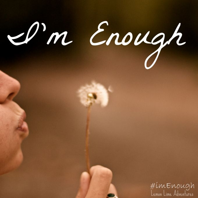 Im Enough | Change Your Inner Voice  #imEnough #sp