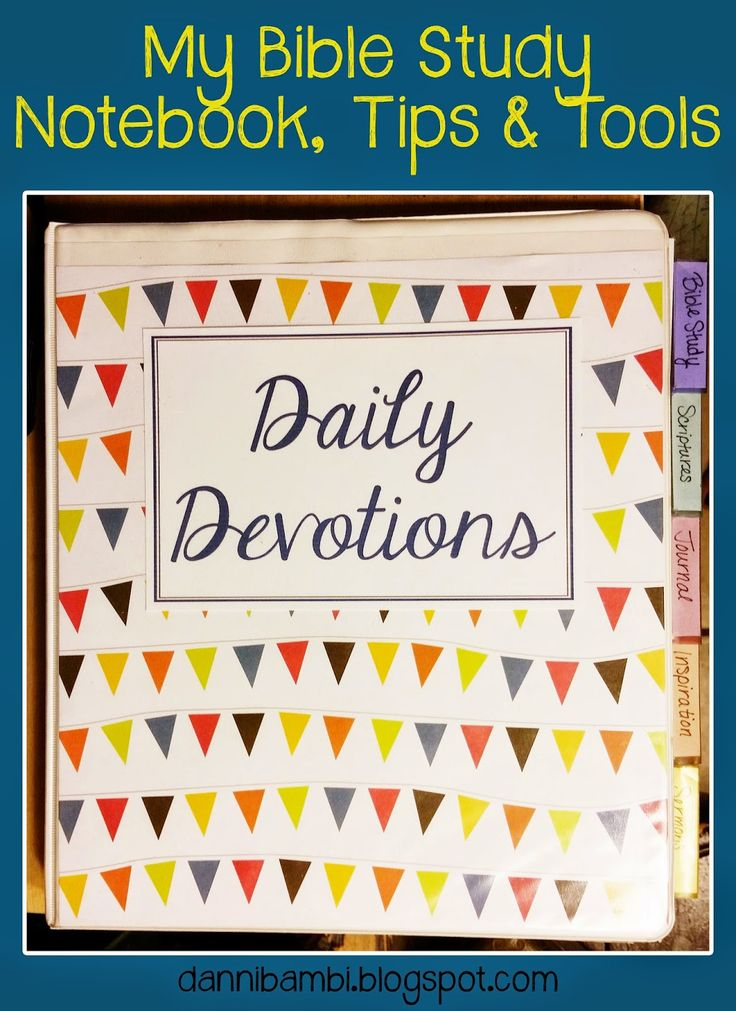 My Bible Study Tools, Highlighting System and Notebook (with free printables) | DanniBambi