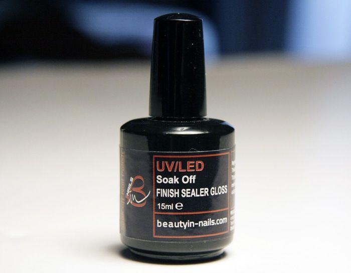 Soak off Finish Sealer Gloss