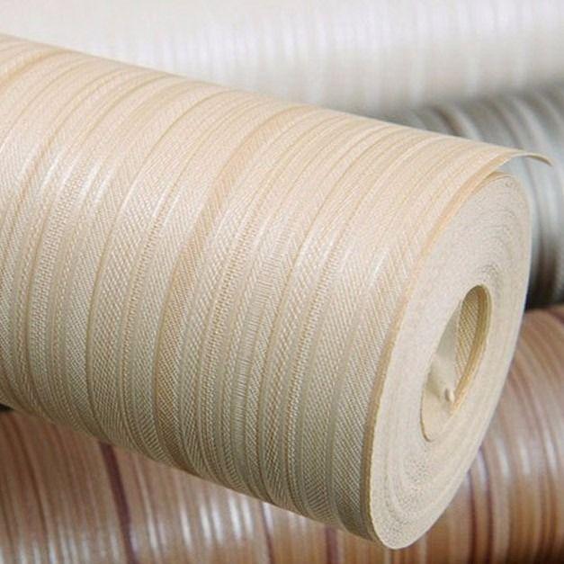papel de parede importado texturizado vinílico listrado 10m