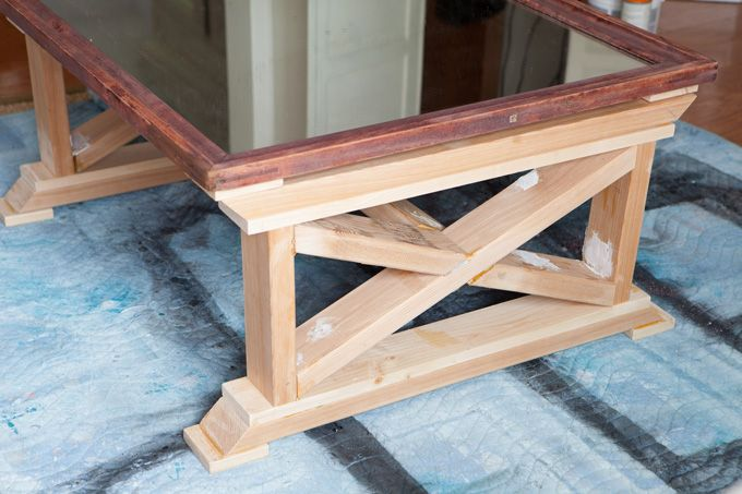 Repurposed mirror coffee table in my own style sixth for Find a table