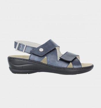 sandale de travail bleu marine pour infirmière  nordways