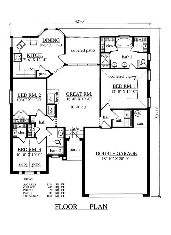 510 best house plans images on Pinterest | House floor plans ...