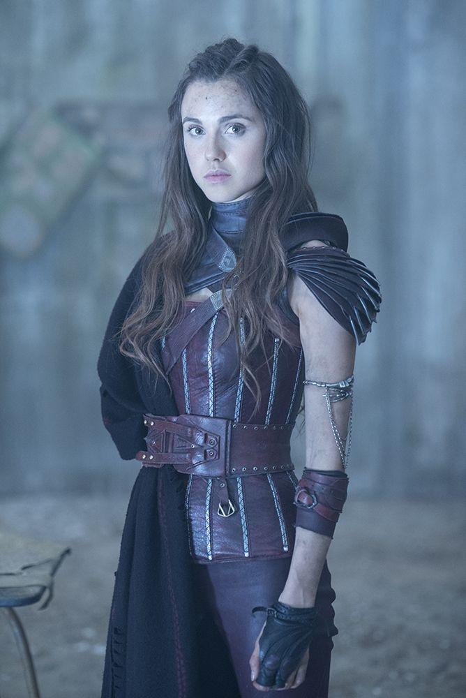Amberle Elessedil character still from The Shannara Chronicles.