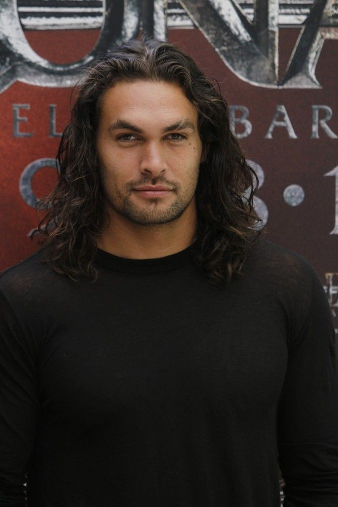 Jason Momoa - no idea, but he is gorgeous!