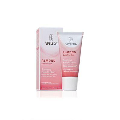 Weleda Almond Soothing Facial Lotion / Cream 30ml - vakkarikäytössä ja tätä kuluu! :)