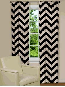The Chevron Pattern curtain you've been looking for, buy it here!! Custom made!