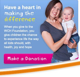 The Women's & Children's Hospital Foundation - a great non-profit in #Adelaide who we had the pleasure of designing a brand new #website for!