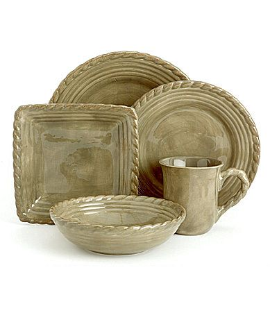 Artimino Tuscan Countryside Sage Dinnerware -- we have 1 green oval covered casserole dish and  sc 1 st  Pinterest & 75 best tuscan dinner images on Pinterest | Melamine dinnerware sets ...