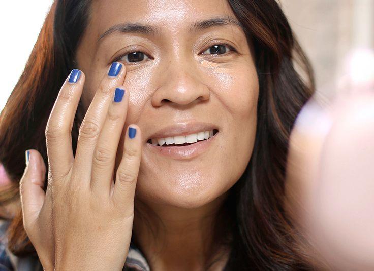 cool Wenn Sie hatte ein volles Gesicht anwenden Make-up mit nur Finger, Wie würden Sie Ihr Make-up Fähigkeiten auf einer Skala von 1-10?