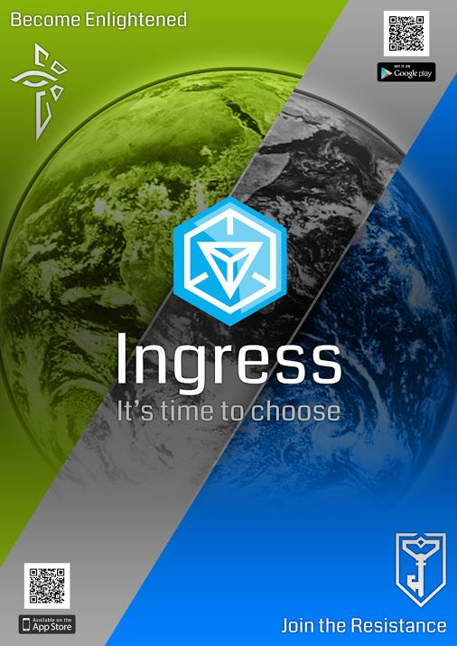 it's time to move? first you've got to choose! #IngressRecruits +Ingress