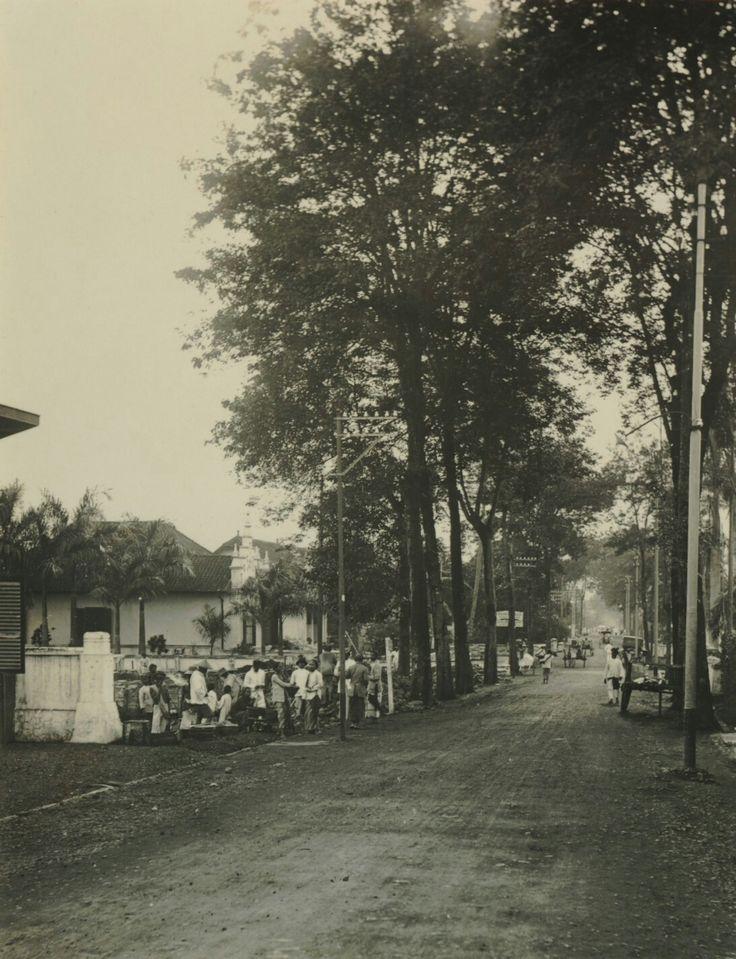 Naripanweg te Bandoeng. 1913