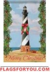 Hatteras Christmas Garden Flag