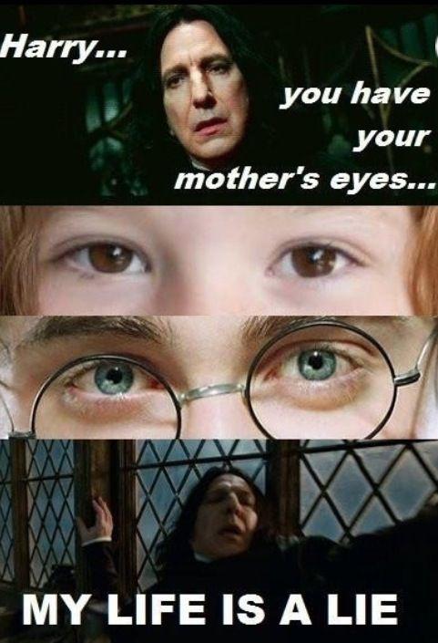 Haha! Poor Snape