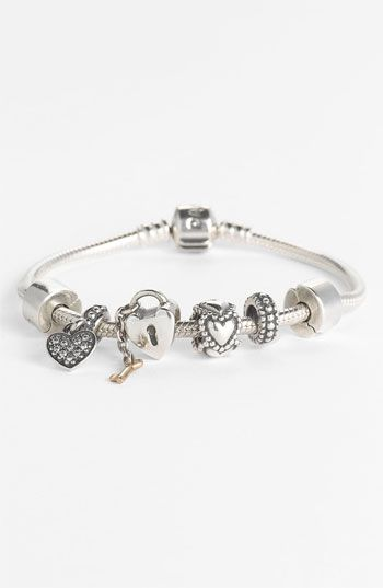 love this kind of bracelet! PANDORA Charm Bracelet & Charms available at #Nordstrom