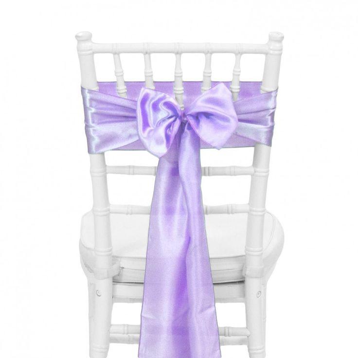 Satin Chair Sash   Lavender [404118] : Wholesale Wedding Supplies, Discount  Wedding Favors