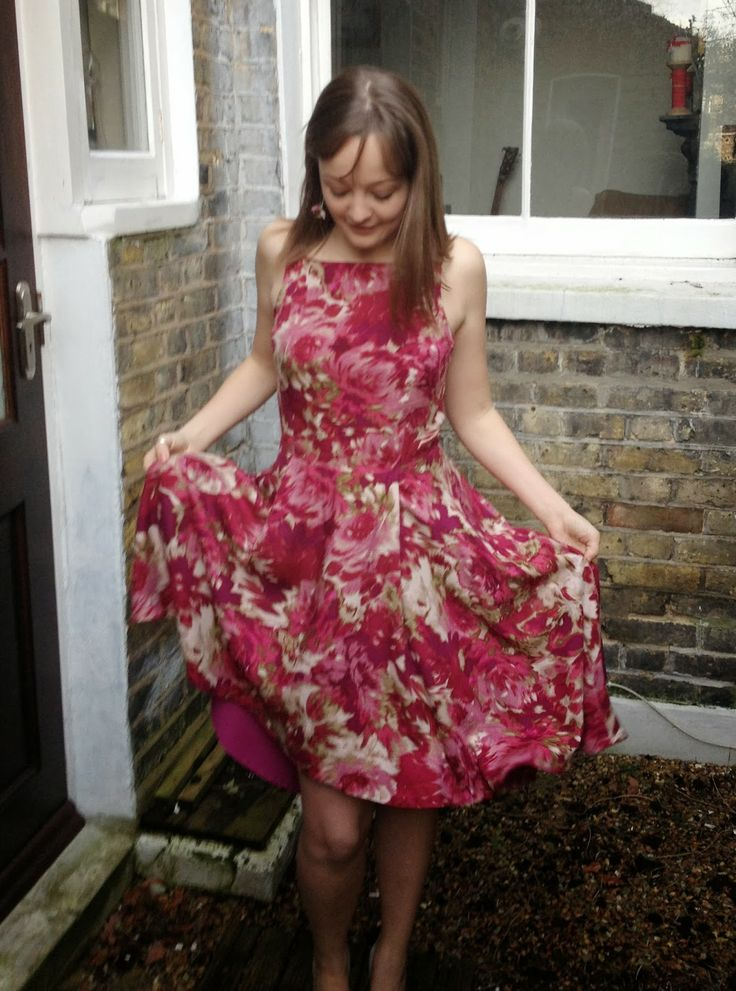 Diary of a Chain Stitcher : Pattern Testing: The Flora Dress from By Hand London Done!