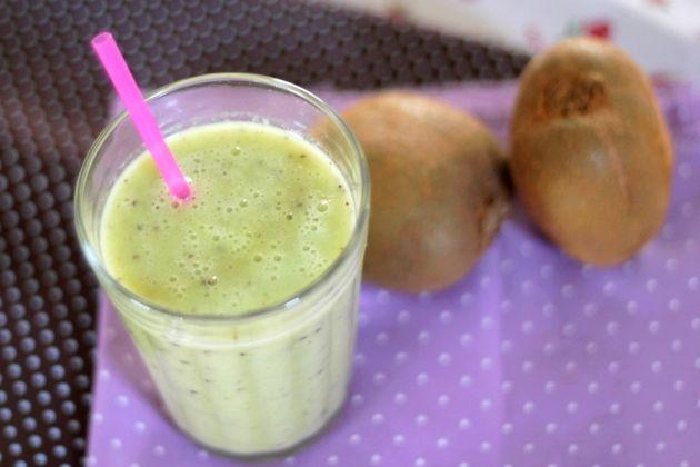t w o b e e: [Receita] Smoothie de Kiwi e Banana