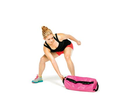 Sandbag exercises.  Some can be done with kettlebells and bars as well.