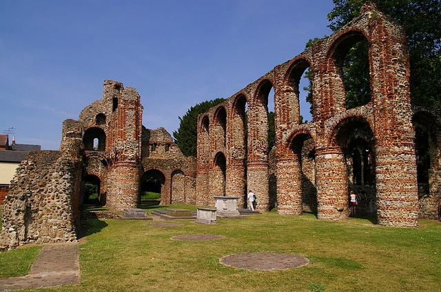 St Botolph's Priory Colchester England