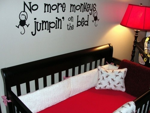 Sock Monkey Crib Bedding Set (With images) | Baby boy ...