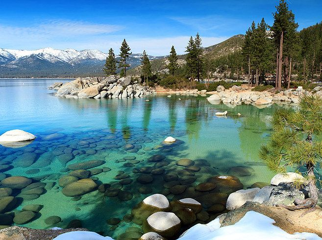 Lake Tahoe, CA | 13 Breathtaking Honeymoon Destinations In The U.S.