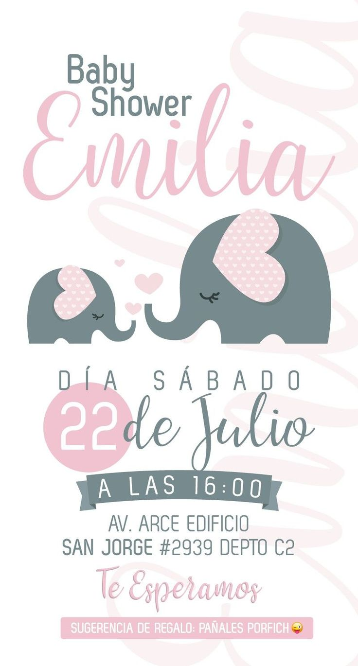Invitación Baby shower mujeres Invitación Baby shower #decoracionbabyshowergirl