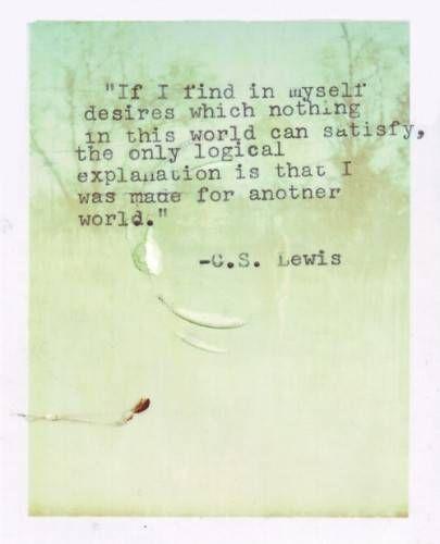 Cs Lewis Quotes On Hope