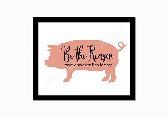 Farmhouse decor. Be the reason someone smiles today. Instant