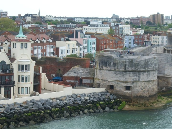 The Round Tower, Old Portsmouth