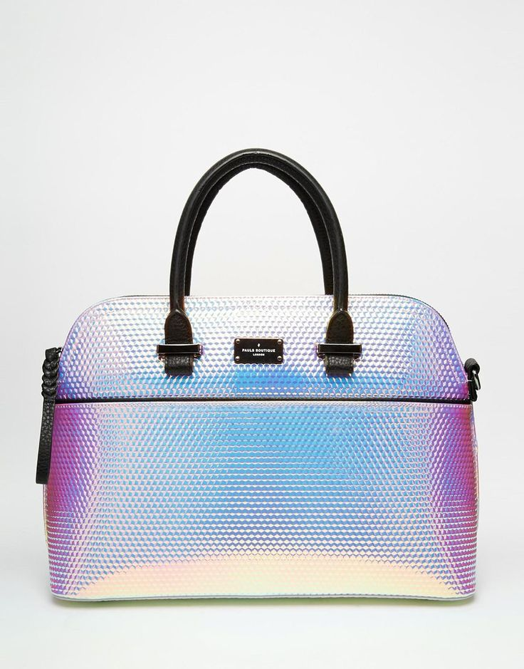 Image 1 of Pauls Boutique Maisy Handbag in Holographic